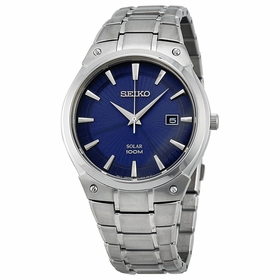 Seiko SNE323 Solar Mens Eco-Drive Watch