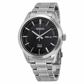 Seiko SNE363P1S Solar Mens Quartz Watch