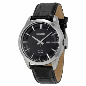 Seiko SNE363P2S Solar Mens Quartz Watch