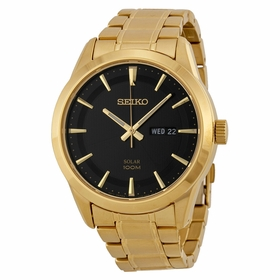 Seiko SNE368 Solar Mens Eco-Drive Watch