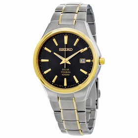 Seiko SNE382 Solar Mens Eco-Drive Watch