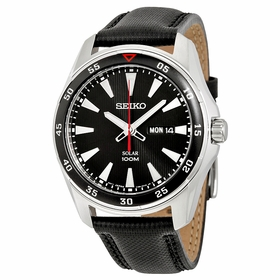 Seiko SNE393P2 Solar Mens Eco-Drive Watch