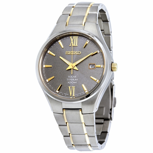 Seiko SNE409 Solar Mens Quartz Watch