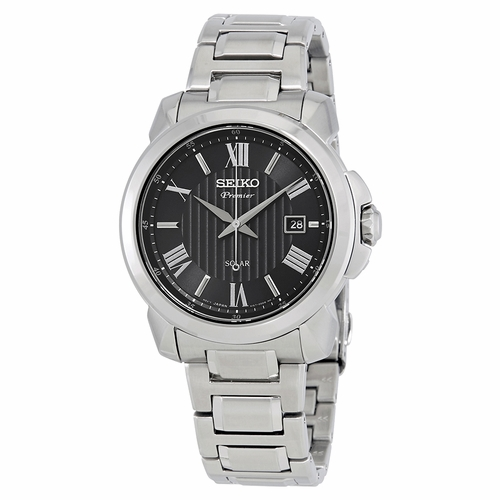 Seiko SNE455 Premier Mens Eco-Drive Watch