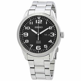 Seiko SNE471P1 Solar Mens Eco-Drive Watch