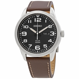 Seiko SNE475P1 Solar Mens Quartz Watch
