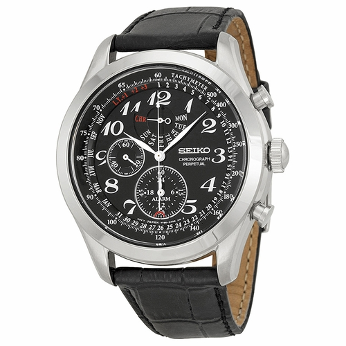 Seiko SPC133 Neo Classic Mens Chronograph Auto-Quartz Watch