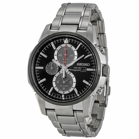 Seiko SSC087 Solar Mens Chronograph Eco-Drive Watch