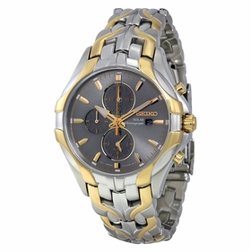 Seiko SSC138 Solar Mens Chronograph Eco-Drive Watch