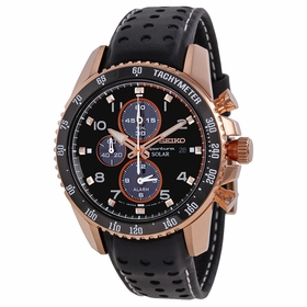Seiko SSC274 Solar Mens Chronograph Eco-Drive Watch