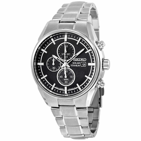 Seiko SSC367 Solar Mens Chronograph Eco-Drive Watch