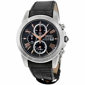 Seiko SSC379 Le Grand Sport Mens Chronograph Eco-Drive Watch