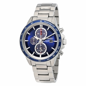 Seiko SSC431P1 Solar Mens Chronograph Eco-Drive Watch