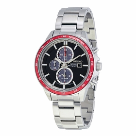 Seiko SSC433P1 Solar Mens Chronograph Quartz Watch