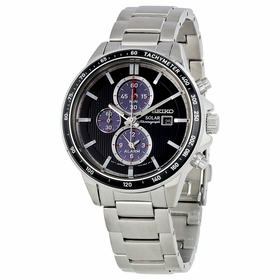 Seiko SSC435P1 Solar Mens Chronograph Quartz Watch