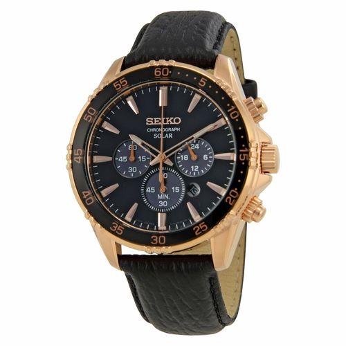 Seiko SSC448 Core Mens Chronograph Eco-Drive Watch