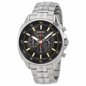 Seiko SSC511 Recraft Mens Chronograph Eco-Drive Watch