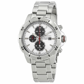 Seiko SSC553P1 Alarm Chronograph Mens Chronograph Eco-Drive Watch