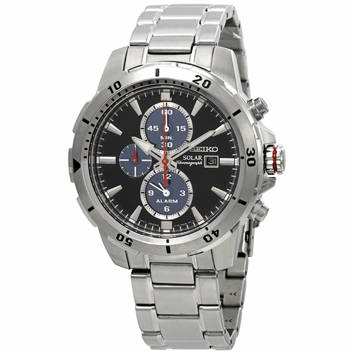 Seiko SSC557P1 Solar Mens Chronograph Eco-Drive Watch