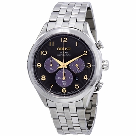 Seiko SSC563 Core Solar Mens Chronograph Quartz Watch