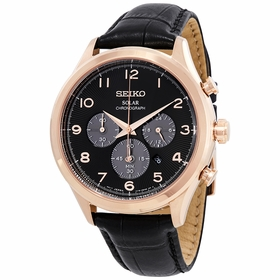 Seiko SSC566 Core Solar Chronograph Mens Chronograph Quartz Watch