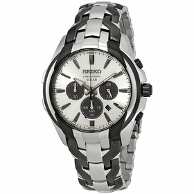 Seiko SSC635 Core Solar Chronograph Mens Chronograph Eco-Drive Watch