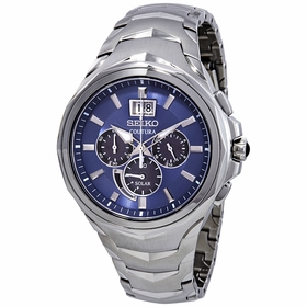Seiko SSC641 Coutura Mens Chronograph Eco-Drive Watch