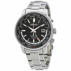 Seiko SUN069P1 Kinetic Mens Eco-Drive Watch