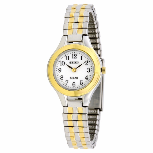 Seiko SUP100 Solar Ladies Quartz Watch