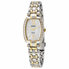 Seiko SUP284 Tressia Ladies Eco-Drive Watch