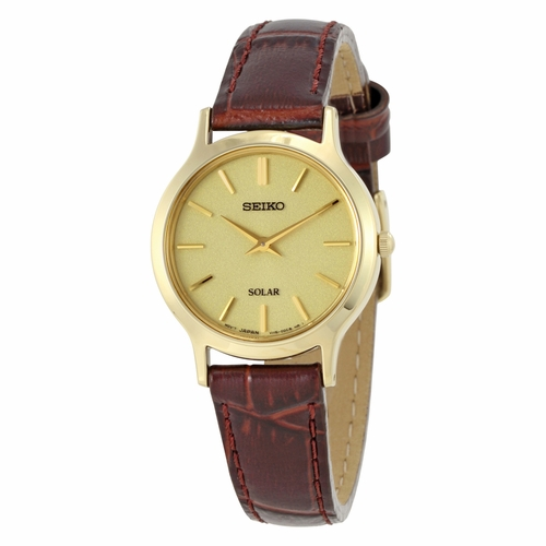 Seiko SUP302 Solar Damen Ladies Quartz Watch