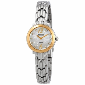 Seiko SUP354 Tressia Sollar Ladies Quartz Watch