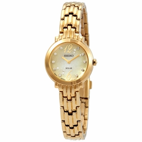 Seiko SUP356 Tressia Solar Ladies Quartz Watch