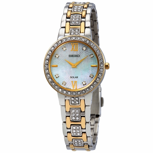 Seiko SUP360 Core Solar Ladies Quartz Watch