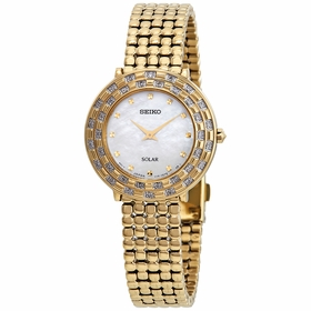 Seiko SUP374 Tressia Solar Ladies Eco-Drive Watch