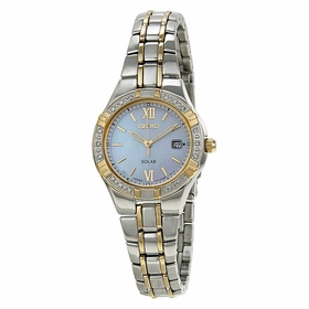 Seiko SUT068 Solar Ladies Eco-Drive Watch