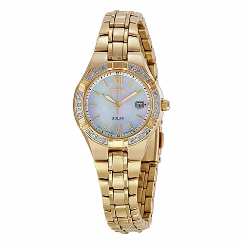 Seiko SUT070 Solar Ladies Quartz Watch