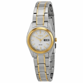 Seiko SUT108 Solar Ladies Eco-Drive Watch