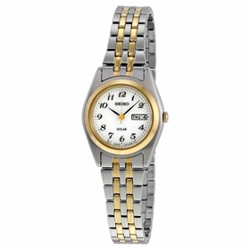 Seiko SUT116 Solar Ladies Eco-Drive Watch