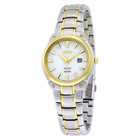 Seiko SUT128 Solar Ladies Chronograph Quartz Watch