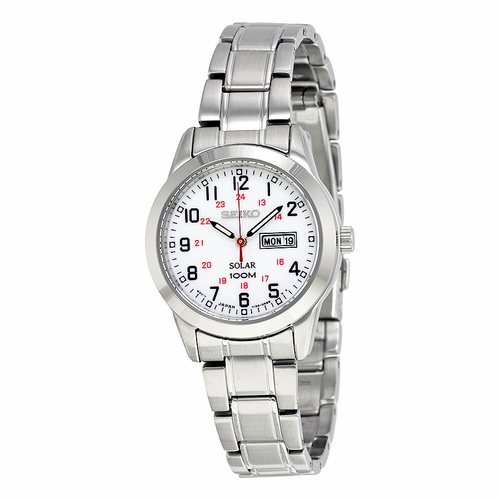 Seiko SUT167 Solar Ladies Eco-Drive Watch