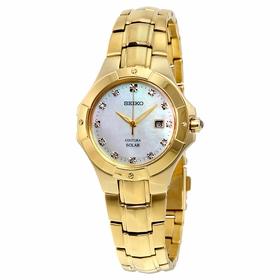 Seiko SUT168 Coutura Solar Ladies Quartz Watch