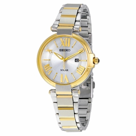 Seiko SUT174 Solar Ladies Eco-Drive Watch