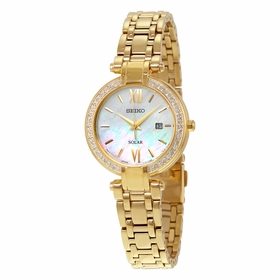 Seiko SUT182 Solar Ladies Quartz Watch