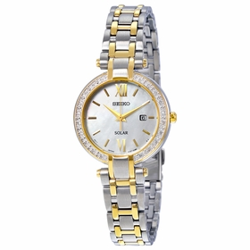 Seiko SUT198 Solar Ladies Quartz Watch