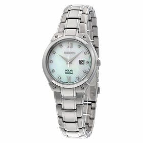 Seiko SUT213 Solar Ladies Eco-Drive Watch