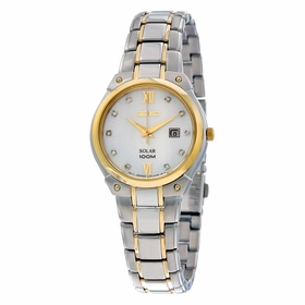 Seiko SUT214 Solar Ladies Quartz Watch