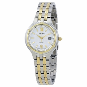 Seiko SUT218 Solar Ladies Eco-Drive Watch