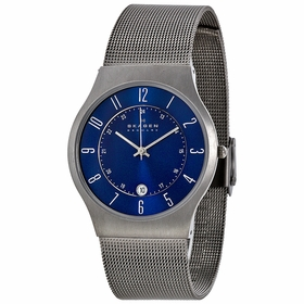 Skagen 233XLTTN Titanium Mens Quartz Watch