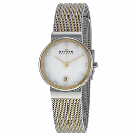 Skagen 355SSGS Ancher Ladies Quartz Watch